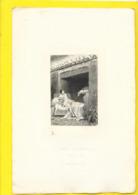 """Gravure Du """"Diable Amoureux"""" De Cazotte Par Lalauze Escargots - Prints & Engravings"""