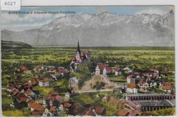 Rankweil Mit Den Schweizer Bergen - Rankweil