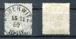 Altdeutschland Norddeutscher Postbezirk Michel-Nr. 17 Vollstempel - Norddeutscher Postbezirk