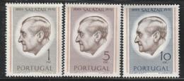 PORTUGAL - N°1116/8 ** (1971) Président Salazar - 1910-... Republik