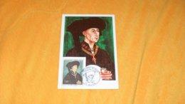 CARTE POSTALE PORTRAIT DE PHILIPPE LE BON PAR VAN DER WEYDEN  DE 1969.../ CACHET DIJON + TIMBRE - 1960-69