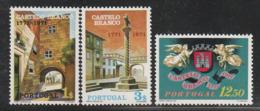 PORTUGAL - N°1123/5 ** (1971) Ville De Castelo Branco - Ungebraucht