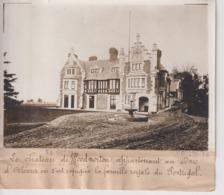 WOOD NORTON UK Worcester  DUC D'ORLÉANS REFUGEE FAMILLE ROYALE PORTUGAL 18*13CM Maurice-Louis BRANGER PARÍS (1874-1950) - Lieux