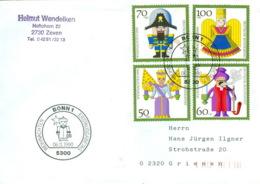 BRD 1484/87 Auf FDC In Die DDR - [7] Federal Republic