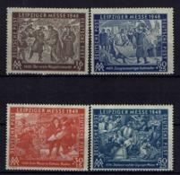 Allemagne - 1948 - N° 1 - 2 - 49 - 50 - Neufs Sans Charnières - XX - TB - - Sowjetische Zone (SBZ)
