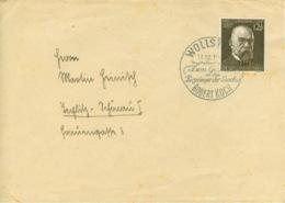 Deutsches Reich 864 Auf Brief - Lettres & Documents