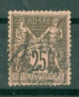 FRANCE - CAD CHERAGAS Cachet 18 (CATALOGUE MATHIEU) BUREAU D'ALGER N° 97 - 1898-1900 Sage (Type III)