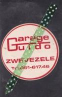 Zelfklever, Auto-collant, Sticker Garage Guido, Zwevezele - Autocollants
