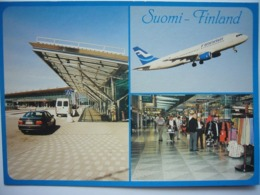 Avion / Airplane / FINNAIR / Airbus A320 / Seen At Helsinki Airport - 1946-....: Era Moderna