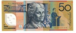 Australia 50 Dollars 2008 UNC .PL. - Emissioni Governative Decimali 1966-...