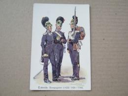 Technische Kompagnien ( 1822 ) 1826 - 1844 - Regiments
