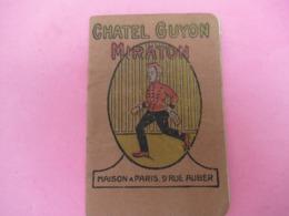 Petit Livret Publicitaire/ Produits Pharmaceutiques/Source Miraton à CHÂTEL GUYON/  Vers 1912   VPN213 - Frankrijk
