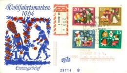 BRD 447/50 Auf R-FDC - [7] Federal Republic