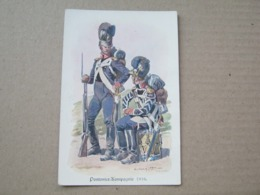 Pontonier - Kompagnie 1816. - Regiments