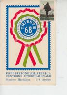 ITALIA 1968  - Trieste  Riunita All'Italia (50° Anniversario) - Seconda Guerra Mondiale