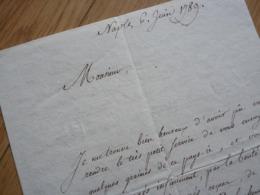 Carl Ulysse VON SALIS MARSCHLINS (1802-1878) Naturalise SUISSE. Botanique. Dominica. AUTOGRAPHE - Autographs