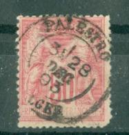 FRANCE - CAD PALESTRO Cachet 18 (CATALOGUE MATHIEU) BUREAU D'ALGER N° 98 - 1898-1900 Sage (Type III)