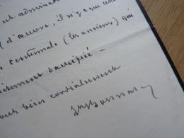 Léon BONNAT - Autographs