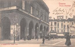 Cremona Piazza Municipio - Animée -  Carrozza - Cremona