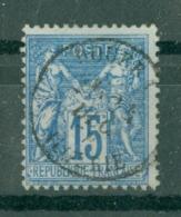 FRANCE - CAD DOUERA Cachet 16 (CATALOGUE MATHIEU) BUREAU D'ALGER - 1898-1900 Sage (Type III)