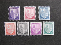 TB Série Timbres D'Andorre Du N° 93 Au N° 99 Neufs XX. - Ungebraucht