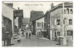 CPA VAUD - Avenue Du Prieuré - PULLY - Animée Avec Facteur Emne. 1908 - VD Waadt