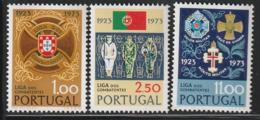 PORTUGAL - N°1203/5 ** (1973) Ligue Des Combattants - 1910-... Republik
