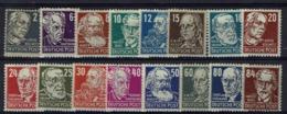 Allemagne - 1948 - Série N° 32-47 - Filigrane M - Neufs Sans Charnières - XX - MNH - - Sowjetische Zone (SBZ)