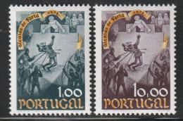 PORTUGAL - N°1206/7 ** (1973) Nuno Goncalves Faria - 1910-... Republik