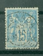 FRANCE - CAD ALGER BOU SAADA (CATALOGUE MATHIEU) YT N° 90 - 1898-1900 Sage (Type III)