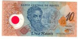 Brazil 10 Reais Pick 248/A Pedro A. Cabral UNC .PL. - Brasile