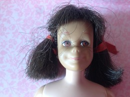 ORIGINAL BARBIE Skooter Doll Body Mark 1963 Tan Skin Color - Barbie