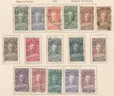 1928 COB 135 à149 Stanley - 1923-44: Oblitérés