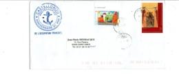 GRECE LETTRE POUR LA FRANCE 2000 80 ANS DE L'OCUPATION FRANCAISE DE CASTELLORIZO - Briefe U. Dokumente