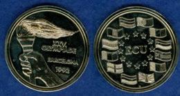 Medaille Ecu Olympia Barcelona 1992 - [ 7] 1949-…: BRD