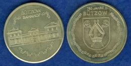 Medaille 750 Jahre Bützow Bahnhof 35mm - [ 6] 1949-1990: DDR