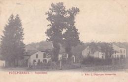 Près-Pierret Panorama Circulée En 1908 - Vresse-sur-Semois