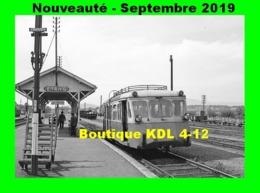 AL 603 - Autorail Billard A 75 D En Gare D'ETANG-SUR-ARROUX - Saône Et Loire - CFD Morvan - France