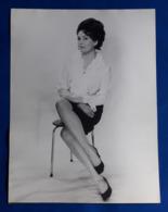 Vintage MODE/FASHION MODEL Photo, Ca. 18 X 24 Cm, Portrait Einer Hübschen Frau, Jolie Femme, Pretty Woman [19-1457] - Pin-Ups
