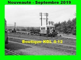 AL 604 - Draisine Avec Un TTX En Gare D'ETANG-SUR-ARROUX - Saône Et Loire - CFD Morvan - France