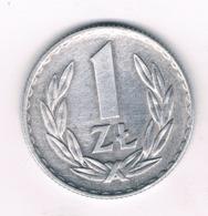 1 ZLOTY 1972  POLEN /6520/ - Poland