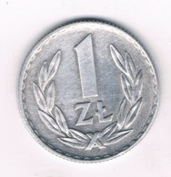 1 ZLOTY 1972  POLEN /6520/ - Polen