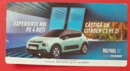 ROMANIA-CIGARETTES  CARD,NOT GOOD SHAPE,0.92 X 0.48 CM - Tabac (objets Liés)