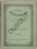 BRUGGE MARIASTAD - 1850 - Met Lithografie Vooraan (R54) - Oud