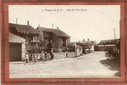 CPA - TRAPPES (78) -Aspect Des Enfants Avec Le Précurseur Du Hula Hoop Dans La Rue Du Port Royal En 1914 / 18 Où 39 / 45 - Trappes
