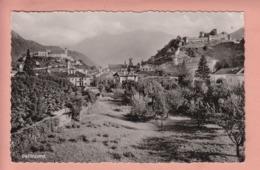 OUDE POSTKAART  ZWITSERLAND - SCHWEIZ - SUISSE -     BELLINZONA - - TI Ticino