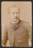 Photo-carte De Visite / CDV / Acteur / Actor / Charles Le Bargy / Acteur Français / Photographer / Van Bosch / Paris - Antiche (ante 1900)