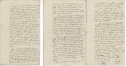 Passeport Curé Gueberschwihr An 5 - 15.9.1797 Herrlisheim, Obermorschwihr, Hatstatt - Documents Historiques