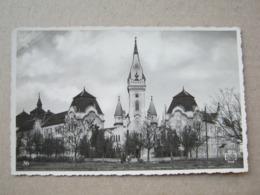 Romania / Timisoara - Liceul, Biserica Si Institutul ( Fotografie Originala ) - Romania