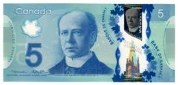 Canada 5 Dollars 2013 Macklem - Poloz UNC .PL. - Canada